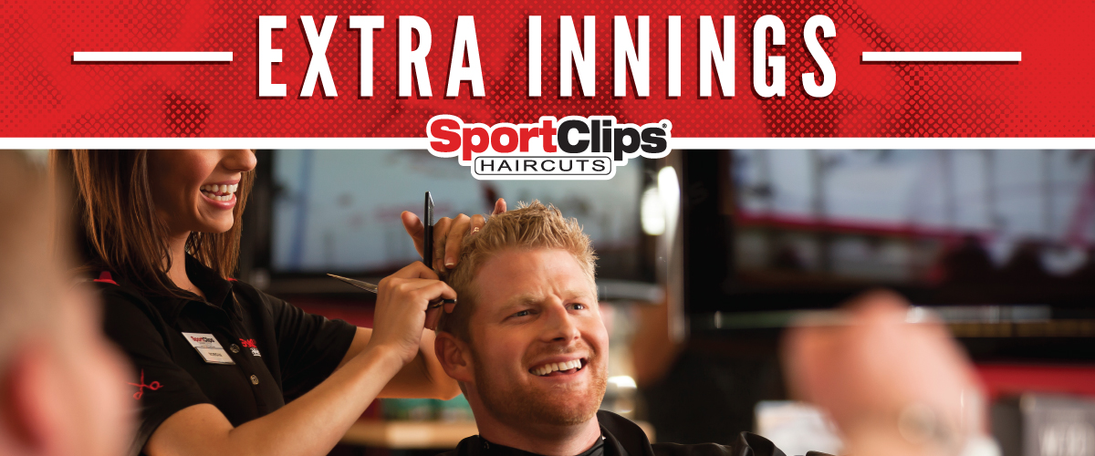 The Sport Clips Haircuts of Bellevue - Twin Creek  Extra Innings Offerings
